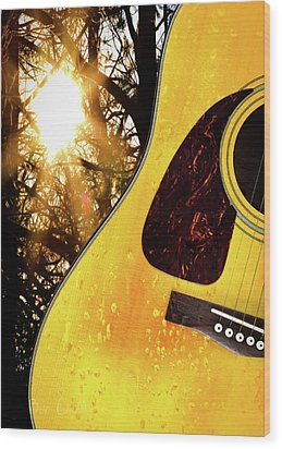 Songs From The Wood Wood Print by Bob Orsillo
