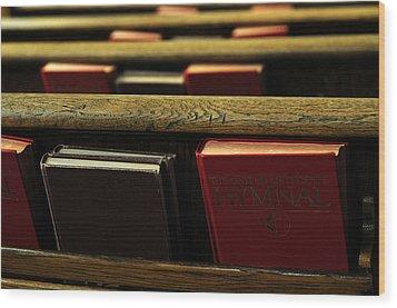 Songs Of Praise Wood Print by Wanda Brandon