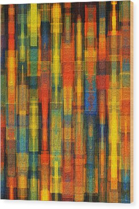 Sonic Dreams Of Glory Wood Print