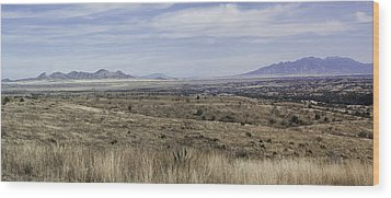 Wood Print featuring the photograph Sonoita Arizona by Lynn Geoffroy