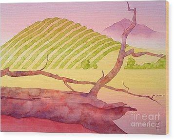 Sonoma Wood Print by Robert Hooper