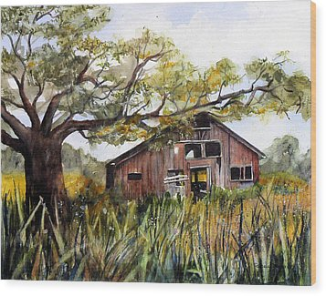 Sonoma Two -summer Wood Print