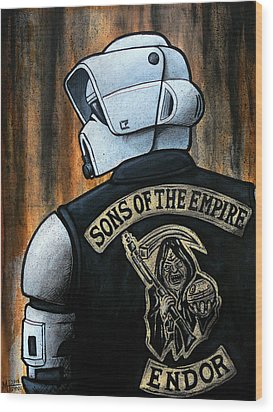 Sons Of The Empire Wood Print by Marlon Huynh