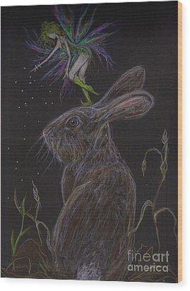 Soon Wood Print by Dawn Fairies