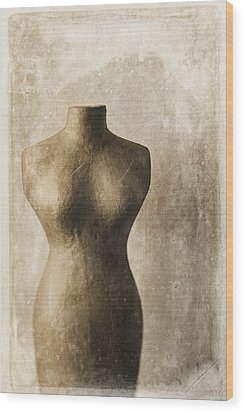 Sophistication II Wood Print by Amy Weiss