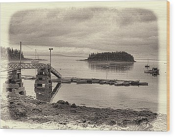 Sorrento Harbor Boats 4 Wood Print