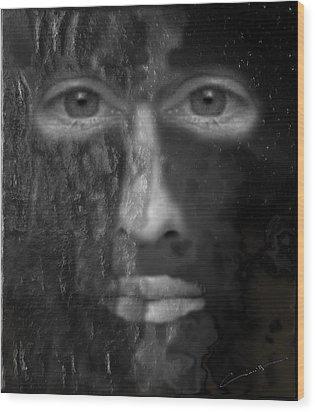 Soul Emerging Wood Print