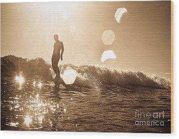 Soul Shine 2 Wood Print by Paul Topp