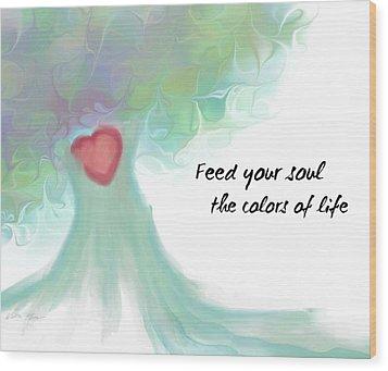 Soul Tree  Wood Print
