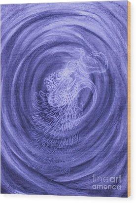 Soul's Dance  Wood Print by Jacquelyn Roberts