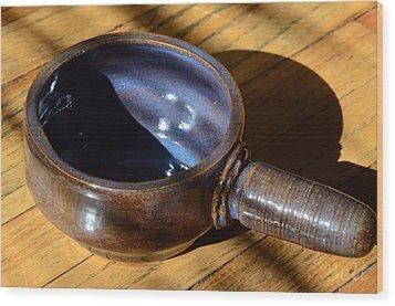 Soup Connoisseur No.2 Wood Print by Christine Belt