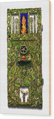 Source Wood Print