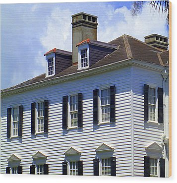 South Battery Beauty Wood Print by Randall Weidner