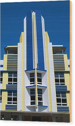 South Beach 2 Wood Print by Ricardo J Ruiz de Porras