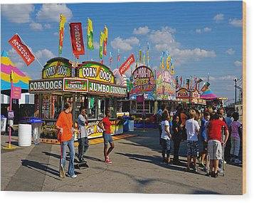 South Carolina State Fair Wood Print