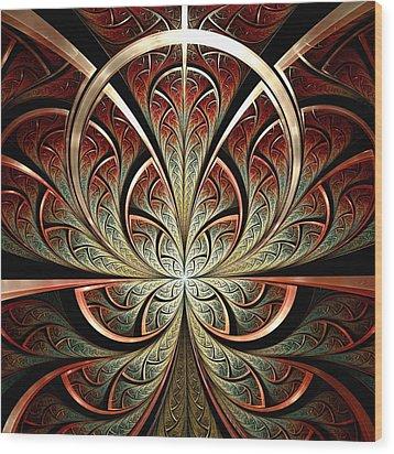 South Gates Wood Print by Anastasiya Malakhova