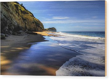 South Pacific Shores Wood Print