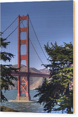 South Tower Wood Print by Bill Gallagher