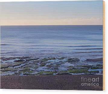 South Uk Seaside Wood Print by Art Photography