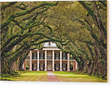 Southern Class Painted Wood Print