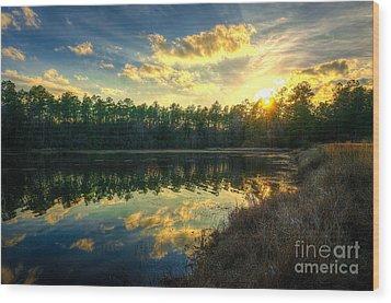 Southern Creek Wood Print