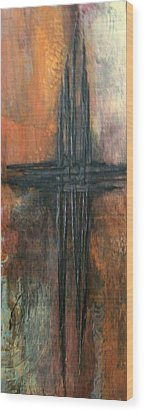 Wood Print featuring the painting Southern Cross by Buck Buchheister