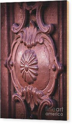 Southern Design Wood Print by John Rizzuto
