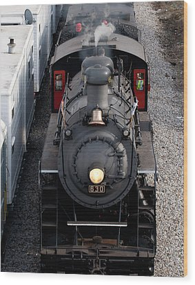 Southern Railway #630 Steam Engine Wood Print