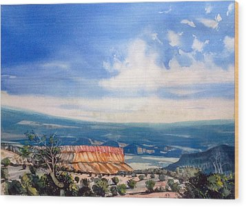 Southern Utah Panorama Wood Print by Matthew Chatterley