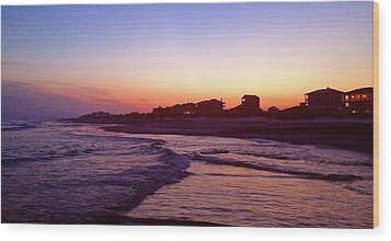 Southern Waters I Wood Print