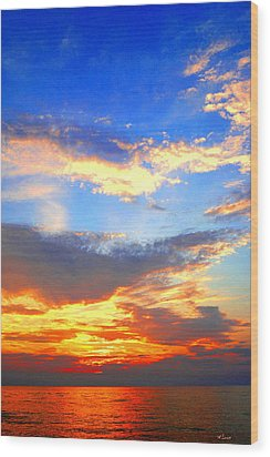 Southhaven Sky Wood Print