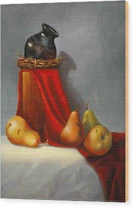 Southwest Banquet Wood Print by Rich Kuhn