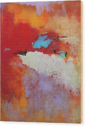 Southwest Color Burst Wood Print