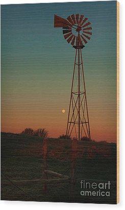 Southwest Morning Wood Print by Robert Frederick