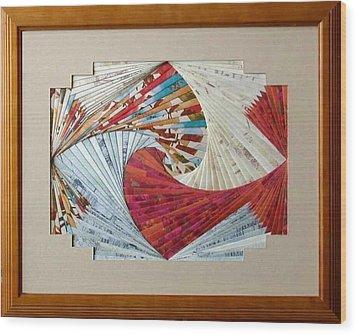 Southwest Sensation Wood Print by Ron Davidson