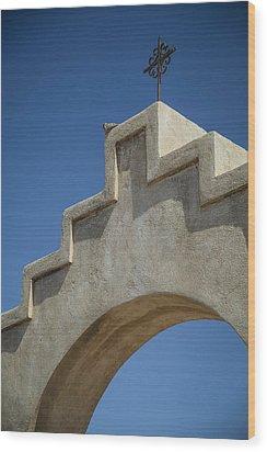 Spanish Cross Wood Print