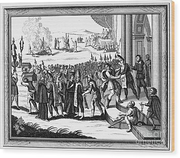 Spanish Inquisition Wood Print by Granger