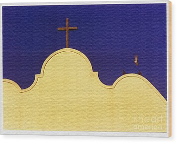 Wood Print featuring the photograph Spanish Mission by Susan Parish