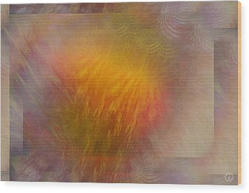 Sparkling Mood Wood Print by Gun Legler