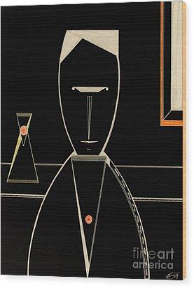 Speak Wood Print by Bill OConnor