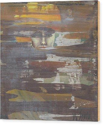 'speaking Life' Wood Print