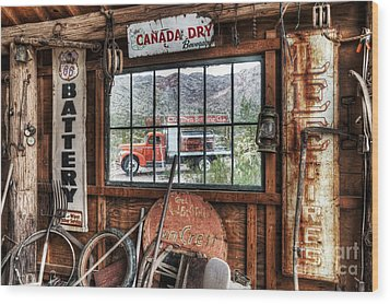 Special Delivery Wood Print by Eddie Yerkish