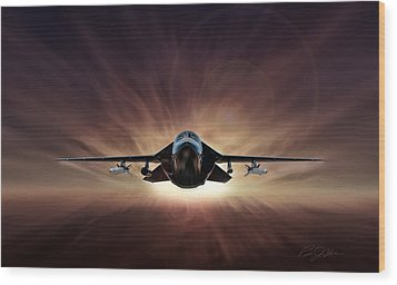 Special Delivery F-111 Wood Print by Peter Chilelli