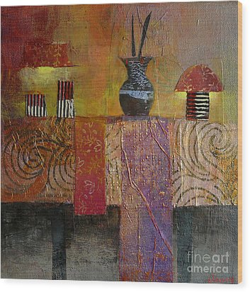 Special Occasion Wood Print by Melody Cleary