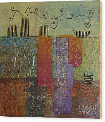Special Occasion No. 2 Wood Print by Melody Cleary
