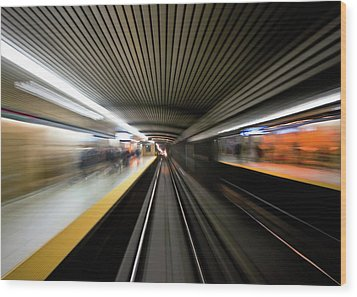 Speed Wood Print by Brian Carson