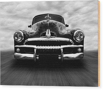 Wood Print featuring the photograph Speeding Fj Holden by Keith Hawley