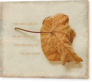 Spent Wood Print