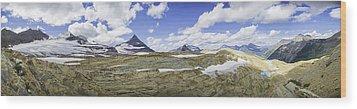 Sperry Glacier Basin Wood Print