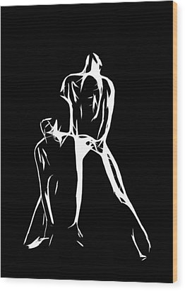 Spezial Gymnastic Wood Print by Steve K